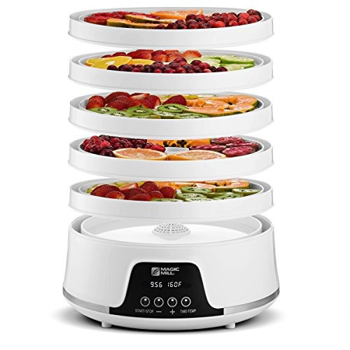 máquina de deshidratación de alimentos magic mill con sistem