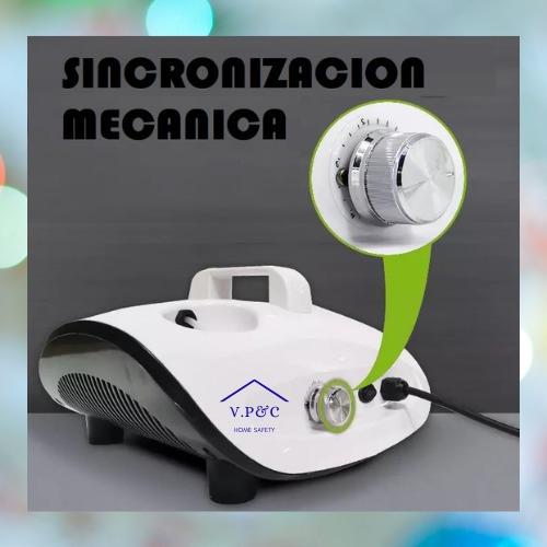 maquina de desinfectante termonebulizadora humo 900w