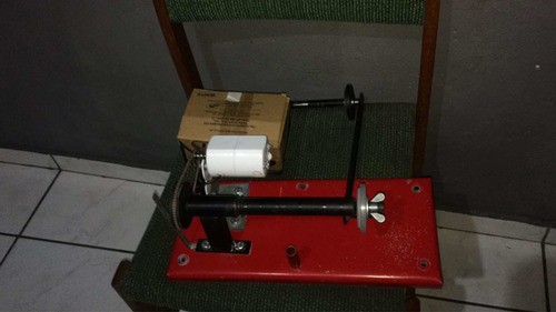 máquina de enrrola linha pipa