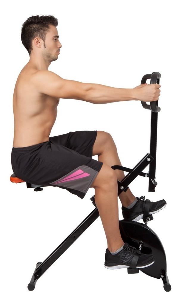 TOTAL CRUNCH M/áquina de Ejercicios Muscular Fitness Entrenamiento Musculaci/ón
