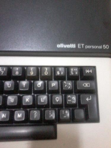 maquina de escrever eletrica