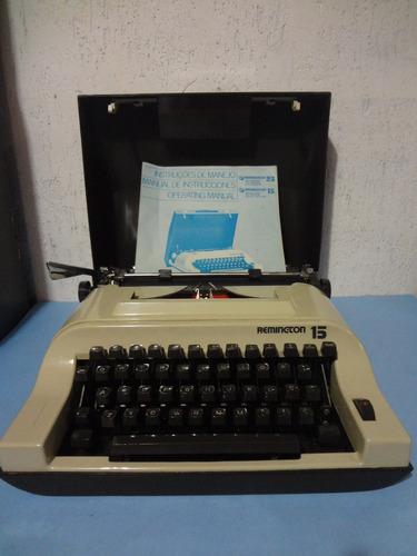 máquina de escrever remington 15 - ótimo estado !!
