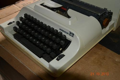maquina de escrever remington 22 l