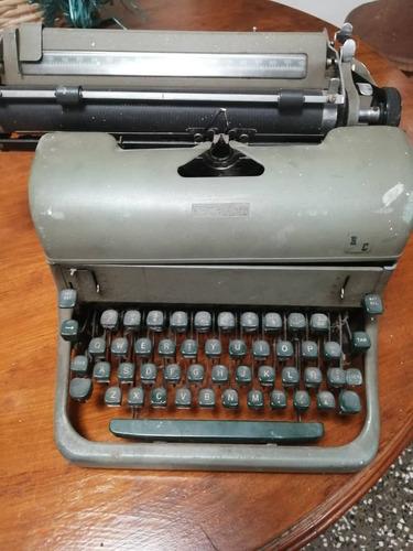 maquina de escribir antigua marca r.c.allen