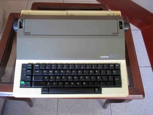 máquina de escribir brother