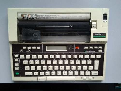maquina de escribir brother electronica