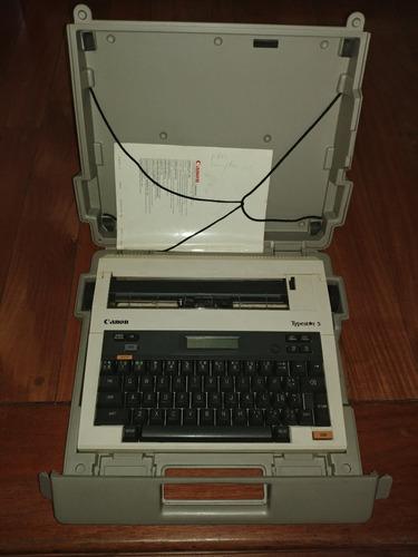 maquina de escribir canon types*r 5