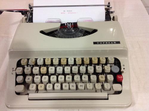 maquina de escribir . colección . funcional . made in japan