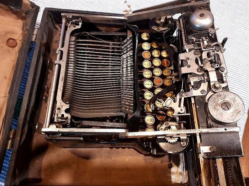 máquina de escribir corona 1917