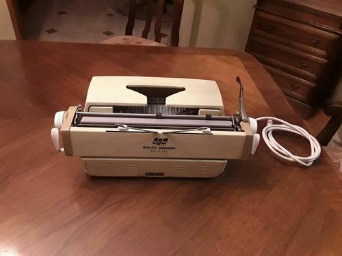 máquina de escribir eléctrica antigua smith corona mod. 6elj