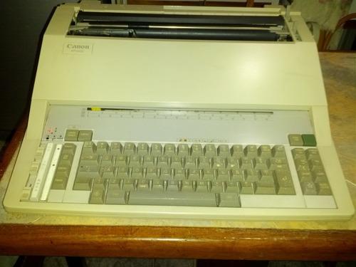 maquina de escribir eléctrica canon