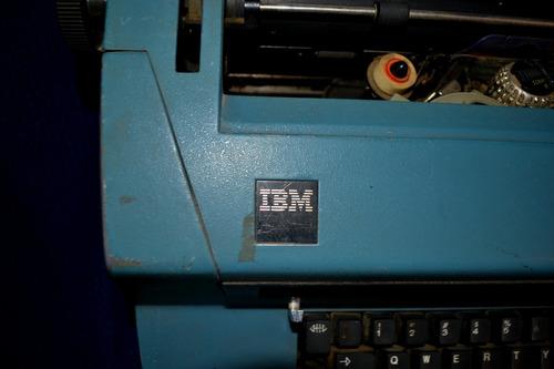 maquina de escribir eléctrica - ibm