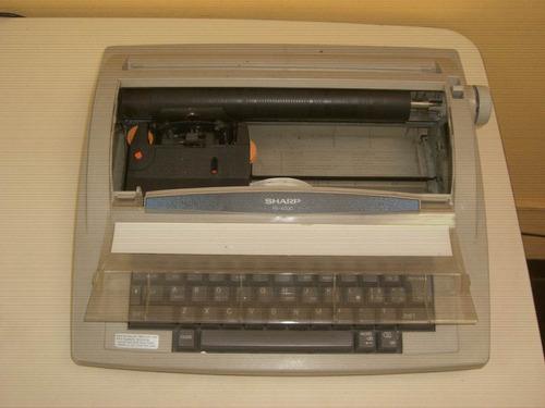 maquina de escribir eléctrica sharp pa-4000
