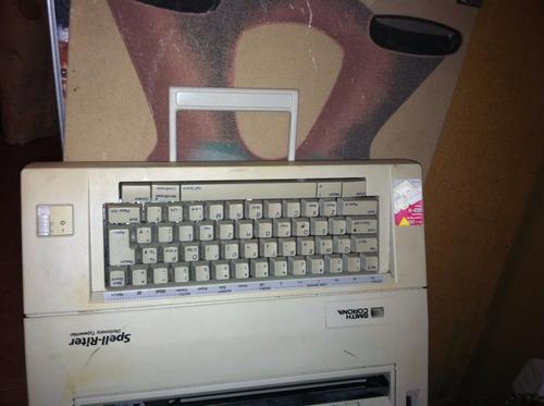 maquina de escribir electrica smith corona