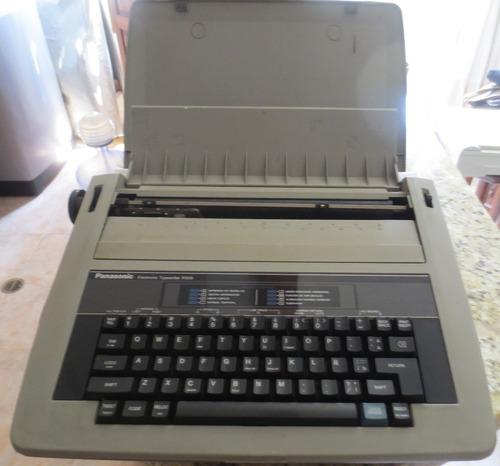 maquina de escribir marca panasonic dañada