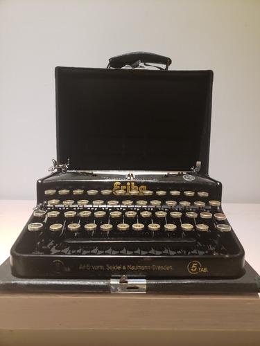 máquina de escribir naumann erika