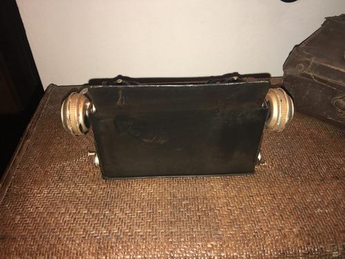 maquina de escribir replica antigua chapa adorno escritorio