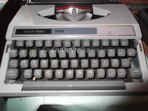 maquina de escribir silver reed