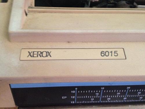 maquina de escribir xerox 6015 , con dos cintas correctoras