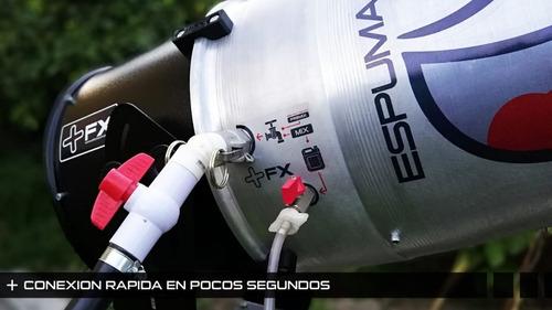 maquina de espuma para fiestas tecnologia alemana cañon