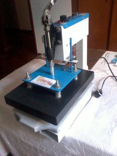 776eaf3da54ab Máquina De Estampar Camisetas Compacta Print P25 Com Brindes - R ...