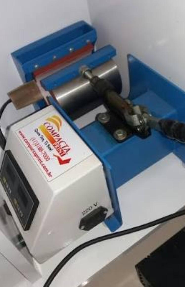Maquina De Estampar Camisetas E Canecas Compacta Print - R  1.300 c280803d414