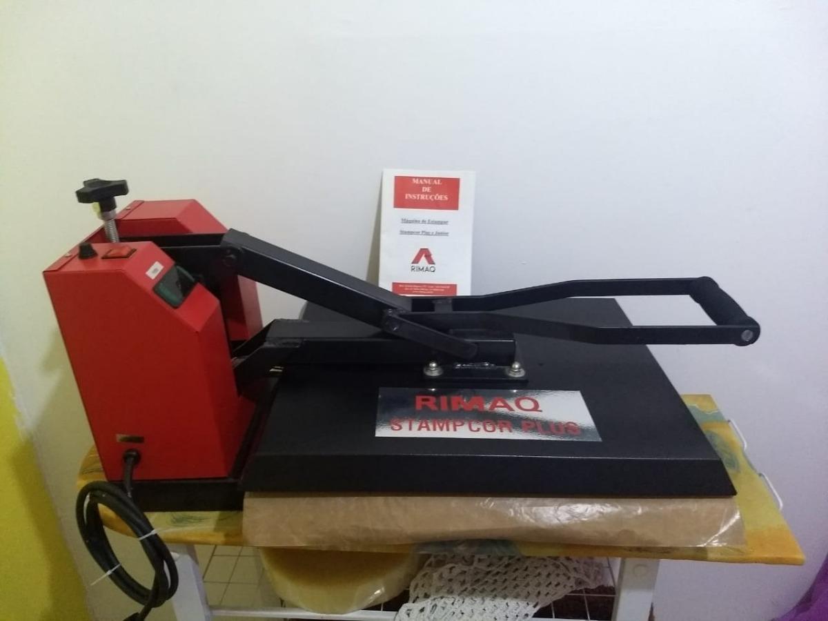 6e385ca1f máquina de estampar camisetas rimaq stampcor plus (110v). Carregando zoom.