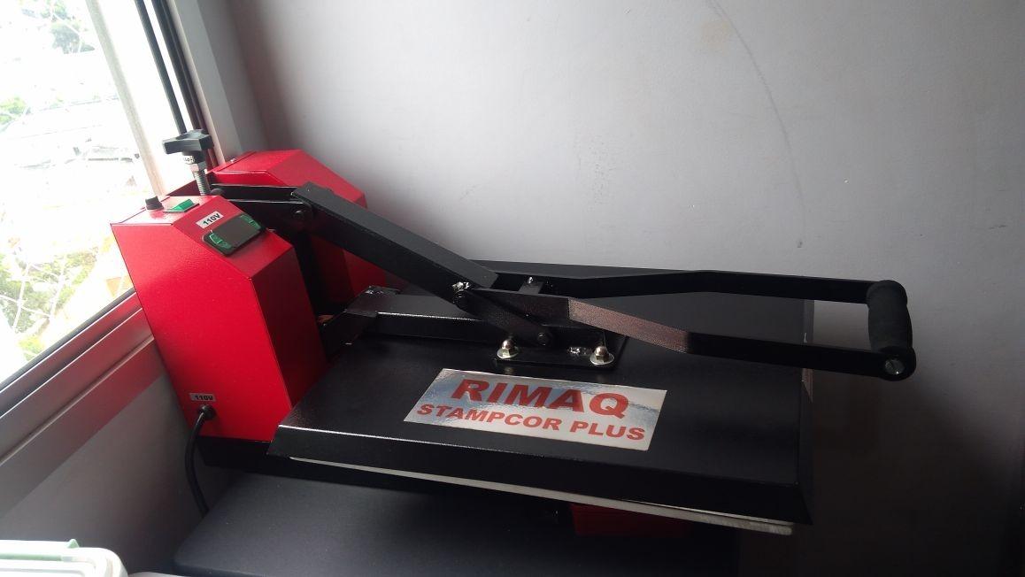 máquina de estampar camisetas stampcor plus rimaq 110v. Carregando zoom. ad226a2a7e76d