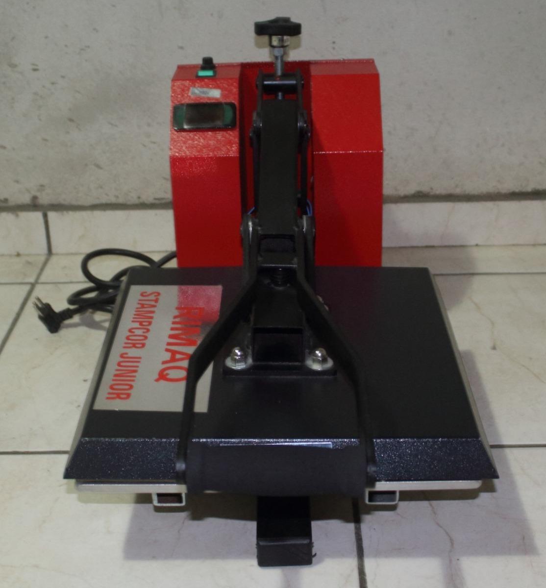 maquina de estampar - stampcor junior - rimaq. Carregando zoom. a8fbf1f6ba2eb