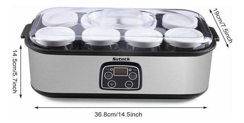 máquina de fabricación automática de yogur pantalla dig...