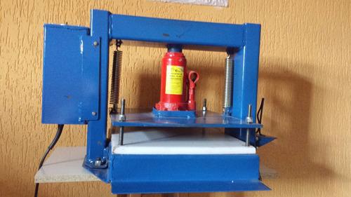 máquina de fabricar chinelo de corte duplo ganhe $$$