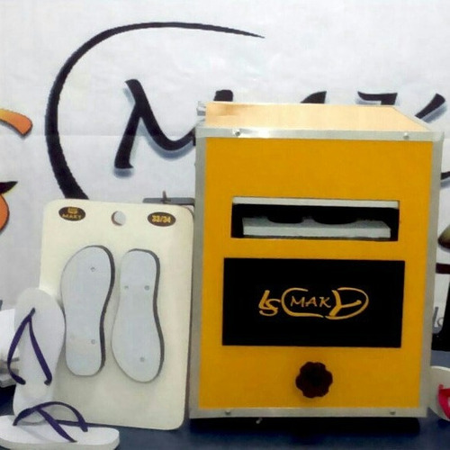 maquina de fabricar chinelos do tipo havaianas