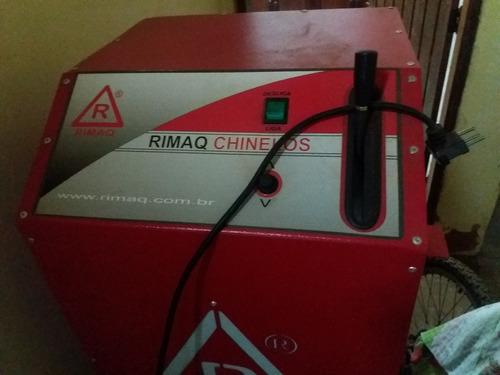 maquina de fabricar chinelos rimaq totalmente automatica