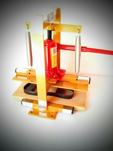 maquina de fazer chinelo completa com 10 facas frete gratis