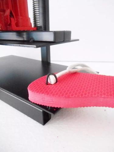 maquina de fazer chinelo completa com 11 facas de corte