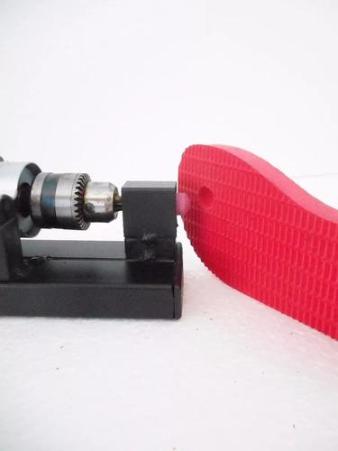 maquina de fazer chinelo completa  corte duplo com  5 pares