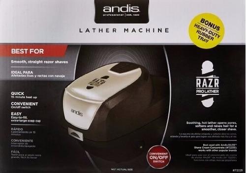 máquina de fazer espuma de barbear andis 110v