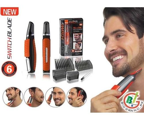 maquina de fazer pezinho cabelo barba pelo depilar com led