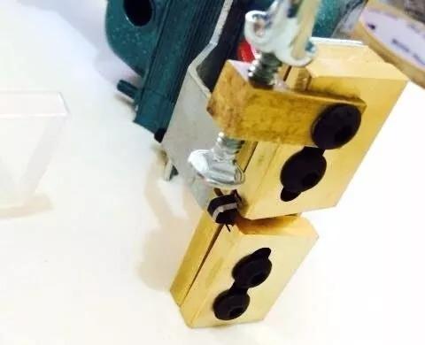 maquina de frisar cortar ( frisador de chinelos ) 110v
