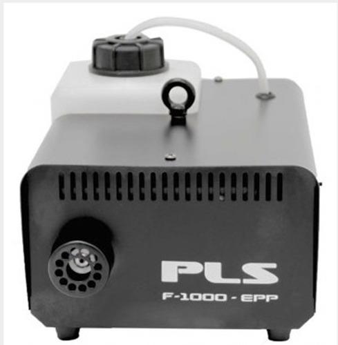 maquina de fumaça pls f-1000 f1000 110v  + nf + garantia