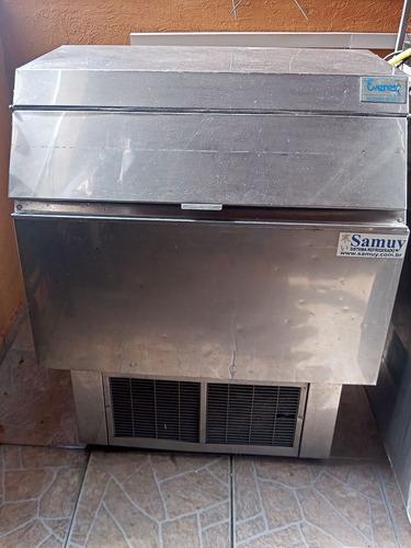 máquina de gelo 150 kilos com depósito everest