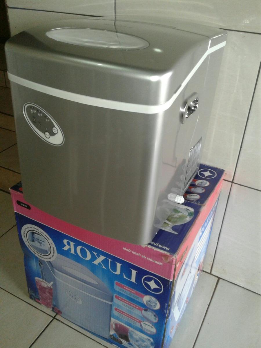 d8be30099 máquina de gelo luxor inox faz 22kg 220v 110v envio mediato. Carregando  zoom.
