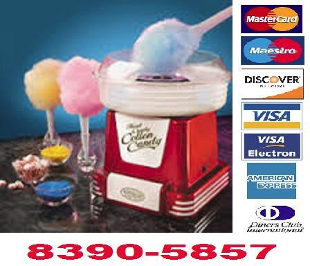 maquina de granizados, palomitas, fuente chocolate-cba04