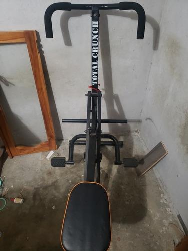 máquina de hacer ejercicios total crunch