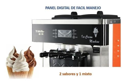 maquina de hacer helados de cono