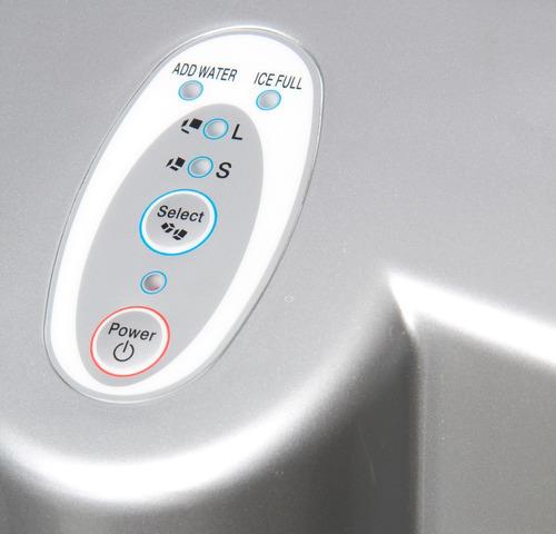 máquina de hacer hielo vivax 12 kgs. por día panel digital