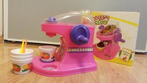 maquina de helado de juguete