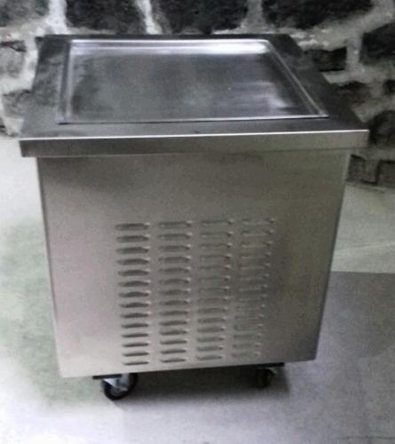 máquina de helado frito