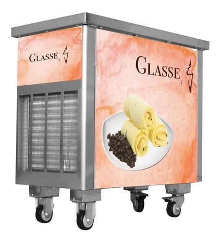 máquina de helado frito glasse 2 planchas pro34