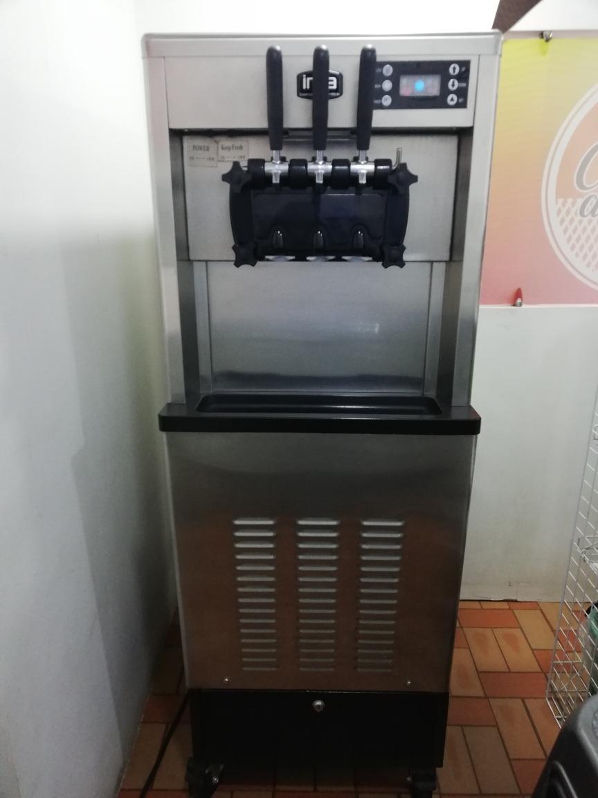 maquina de helado suave con fórmula y más.